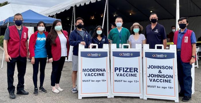 亞美老人服務中心流動疫苗接種站  服務爾灣市熱門商圈