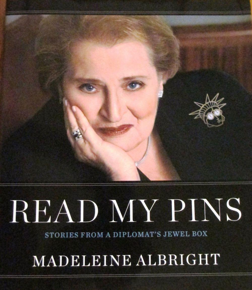 美國史上首位女前國務卿自傳《閱讀我的胸針》